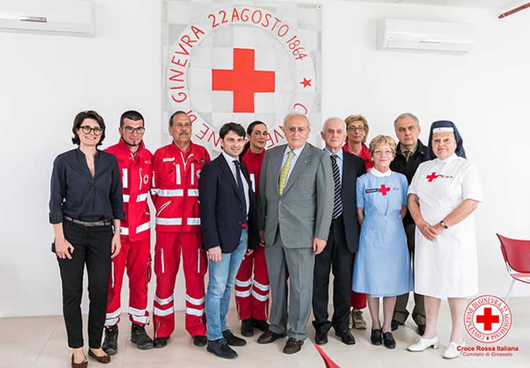 Croce Rossa Grosseto inaugura la nuova sede
