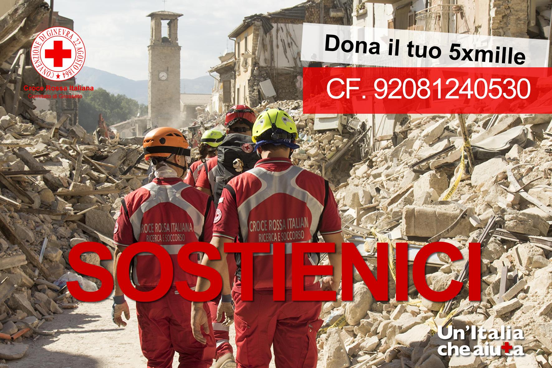 5x1000 Croce Rossa Grosseto