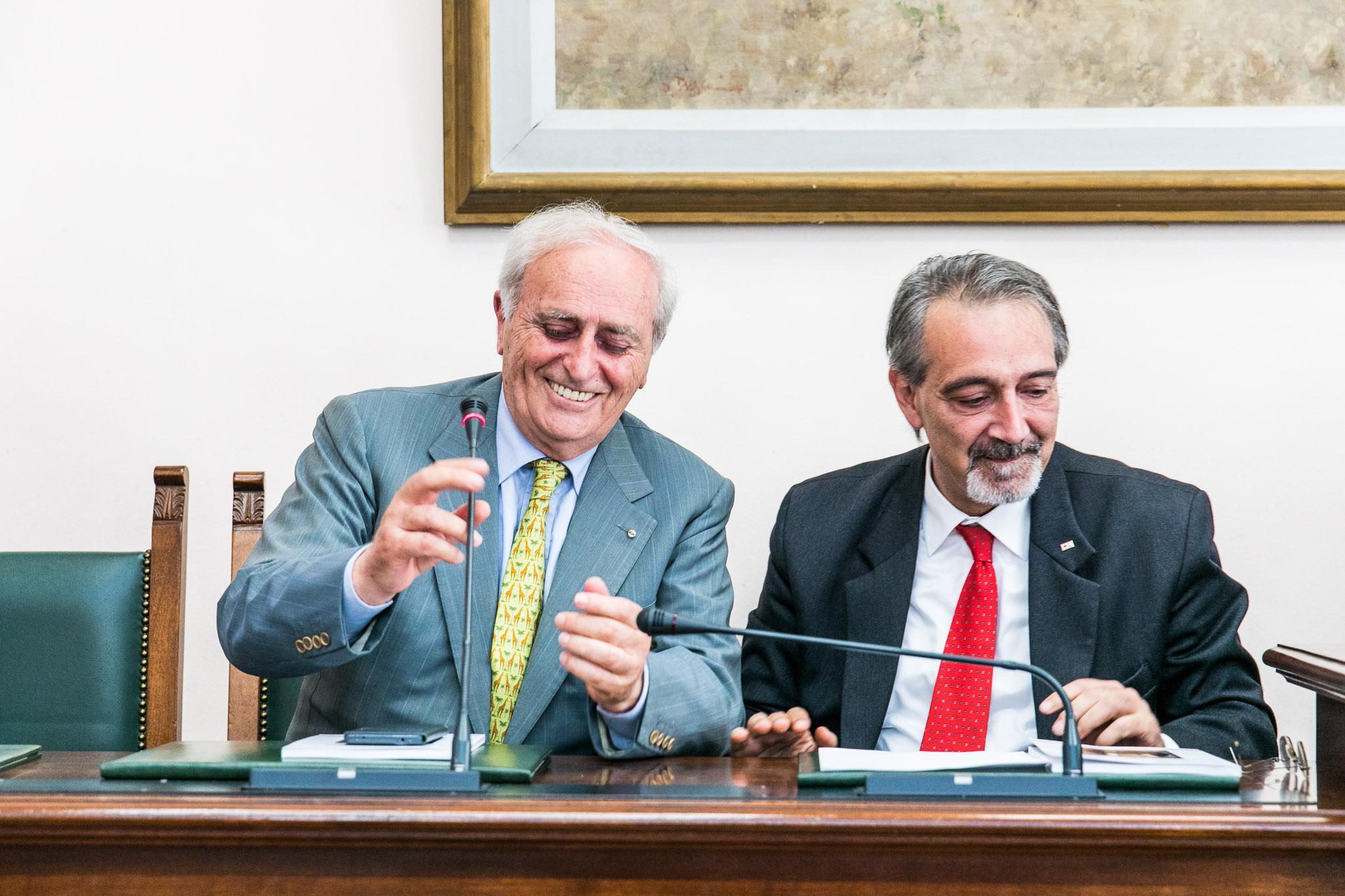 Hubert Corsi e Francesco Rocca