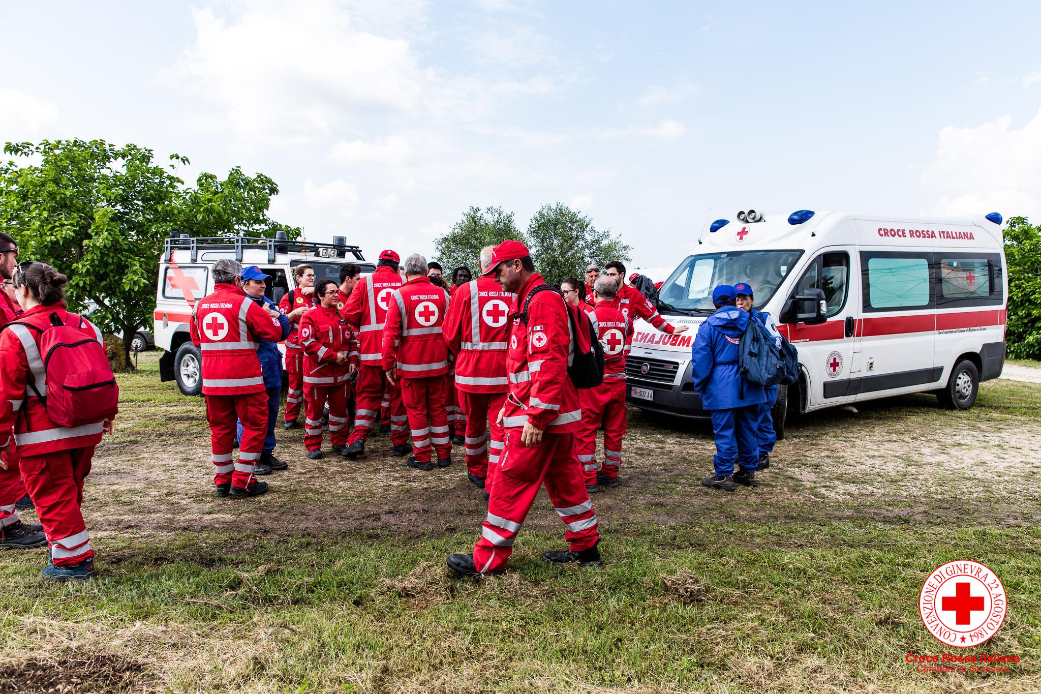 Croce Rossa Italiana Comitato di Grosseto - Gestione grande evento