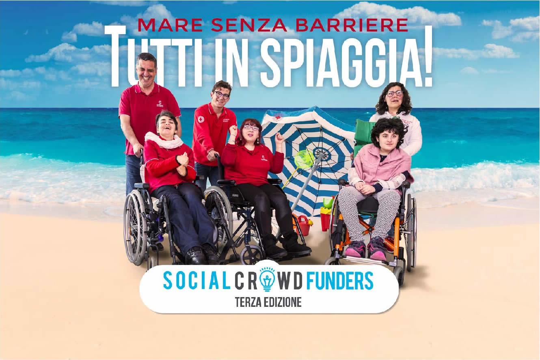 croce rossa italiana comitato di Grosseto tutti in spiaggia